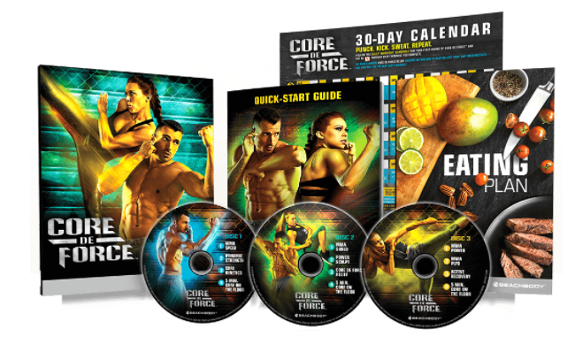Core De Force Base Kit What's Included