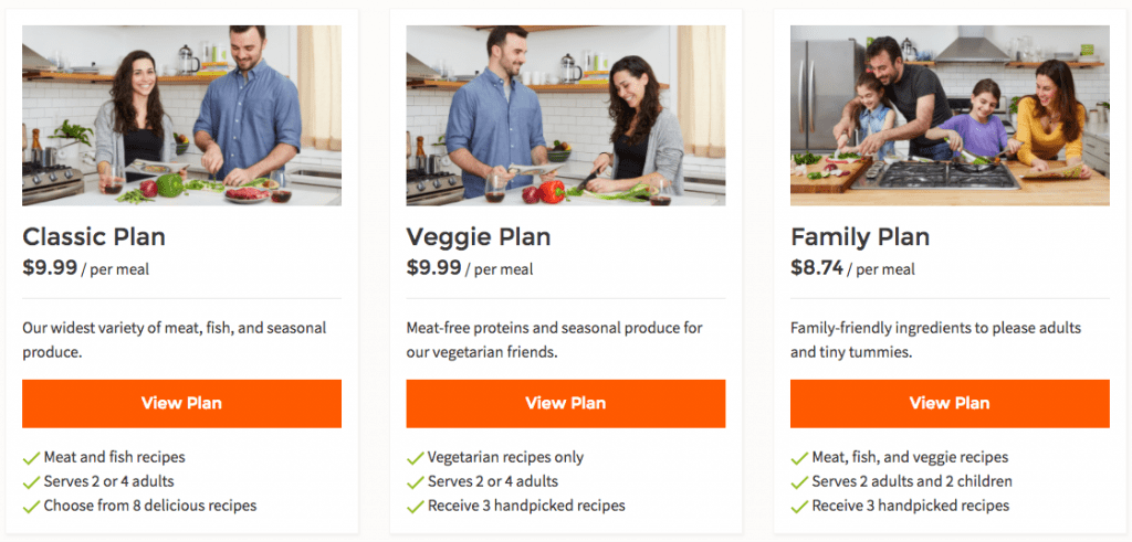 hello fresh review meal plans options
