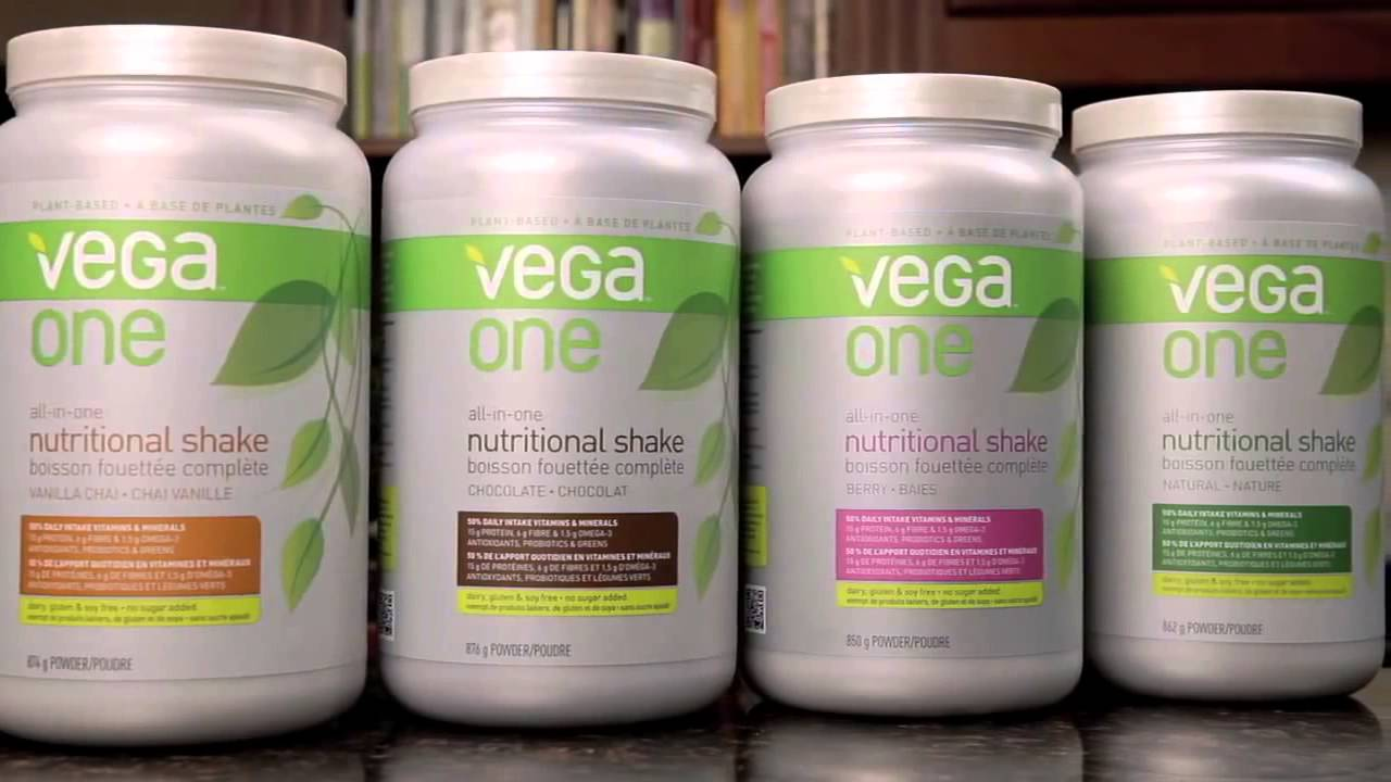 vega one nutritional shake flavors