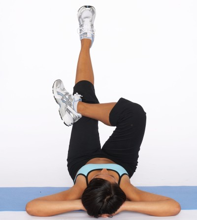 low abdominal cross exercise