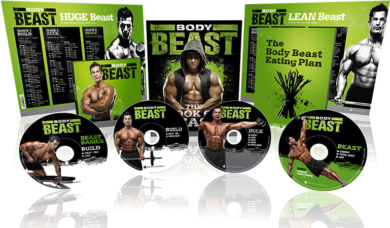 what is included body beast workout kit