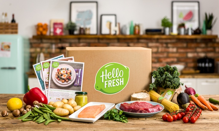 Hellofresh Meal Kit Delivery Service Colors Available