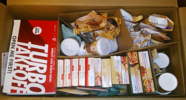 nutrisystem for men package