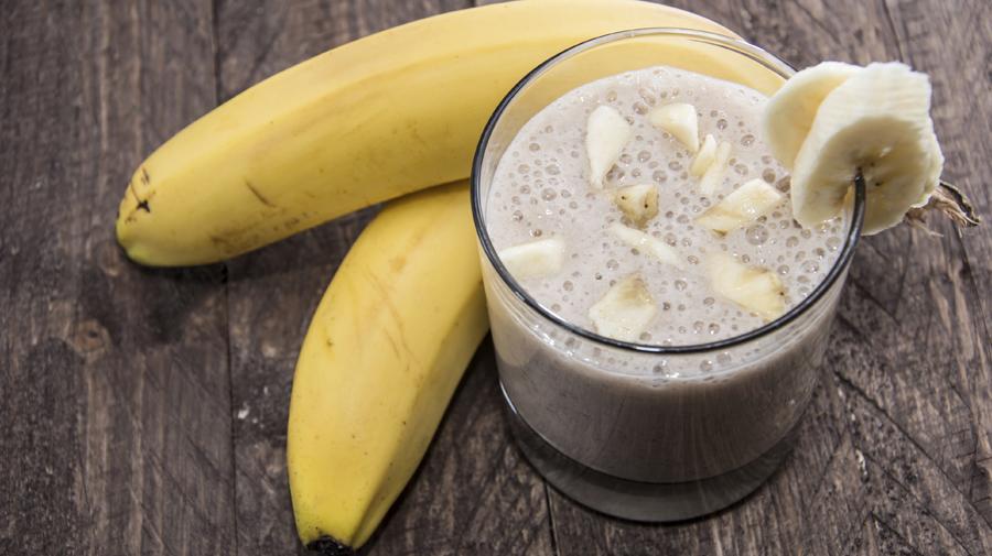 Banana Ginger Smoothie shake