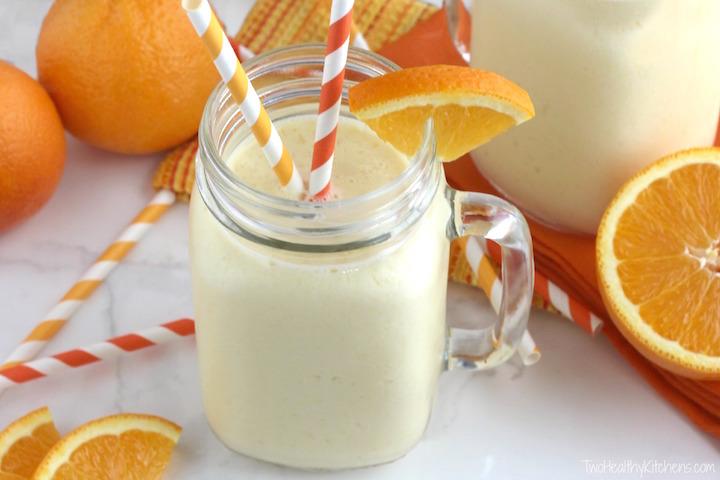 orange creamscle smoothie shake
