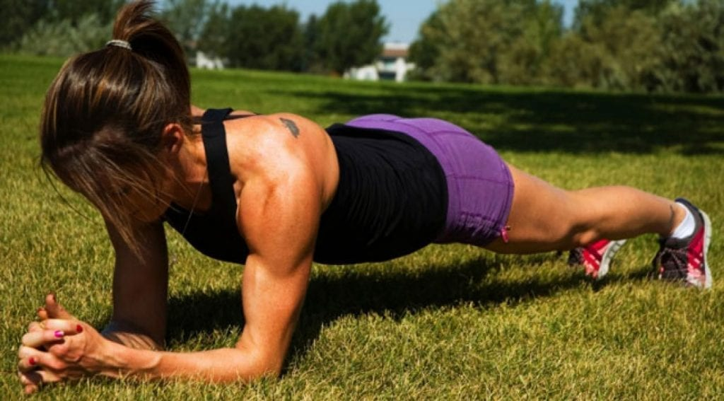 planks stronger women