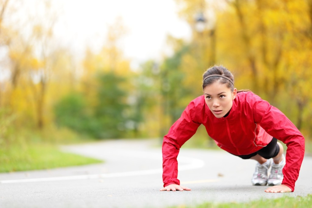 pushups outdoor workouts