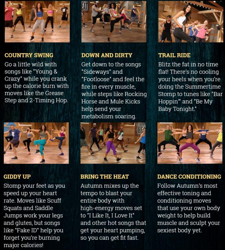 Bachbody Country Heat Workout Breakdown