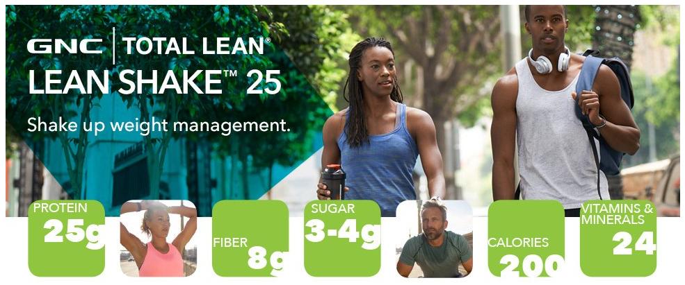 GNC Total Lean Shake Main Ingredients benefits
