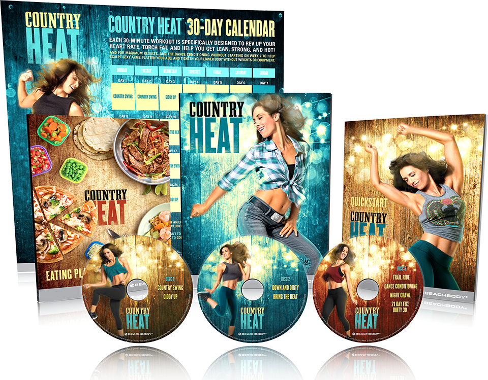 beachbody country heat review what is included package