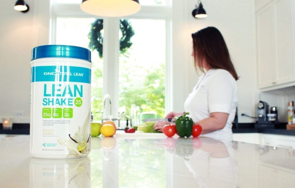 gnc-total-lean-shake review meal replacement