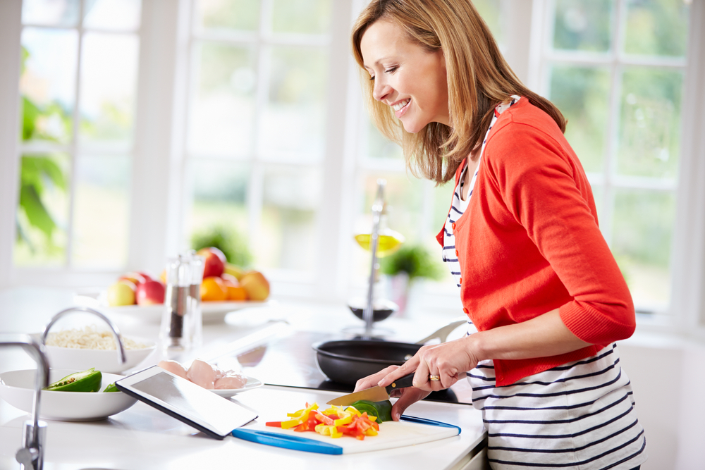 nutrisystem preparing cooking meals flex