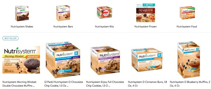nutrisystem-cost-at-walmart-meals