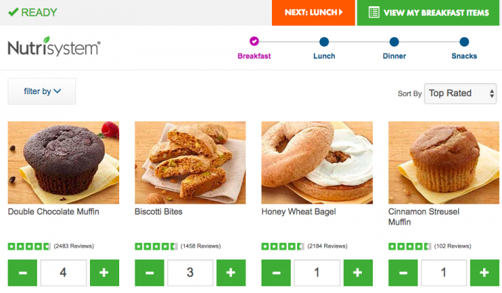 nutrisystem-for-men-breakfast-meals