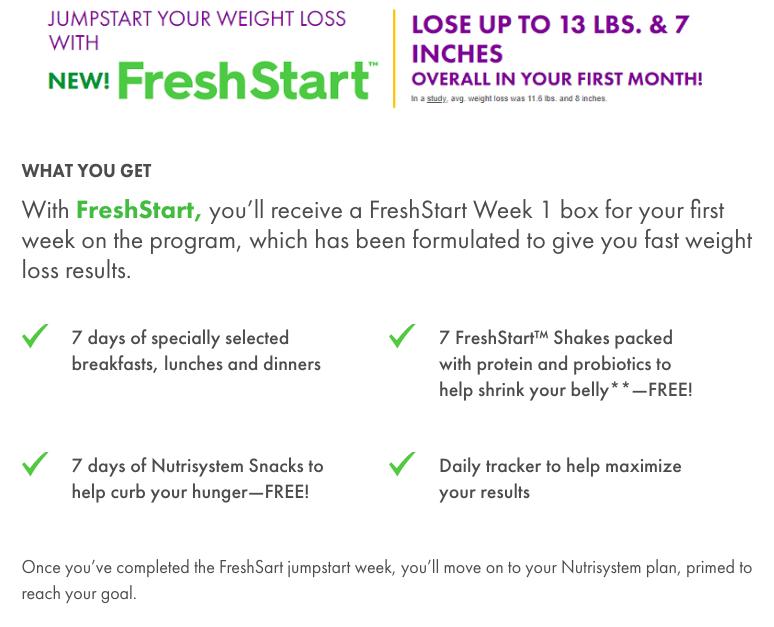 what-is-nutrisystem-fresh-start-new